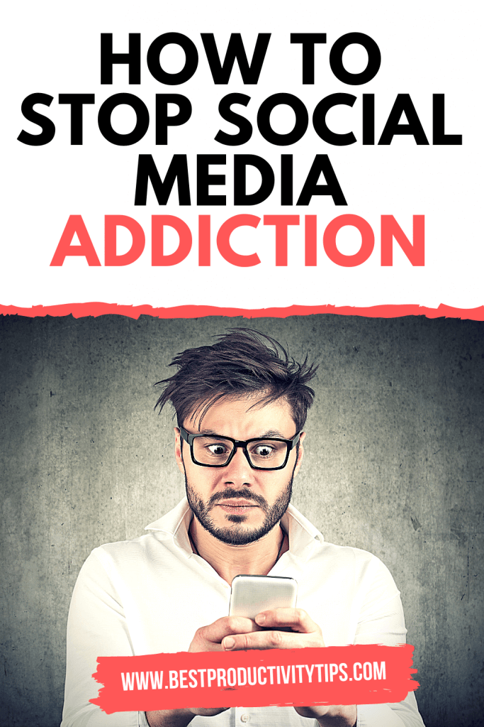 How to stop social media addiction? In this post, you'll find 3 practical and useful ways to stop this addiction, and get productive in your life. |  how to stop social media addiction | how to avoid social media addiction |  social media addiction illustration |