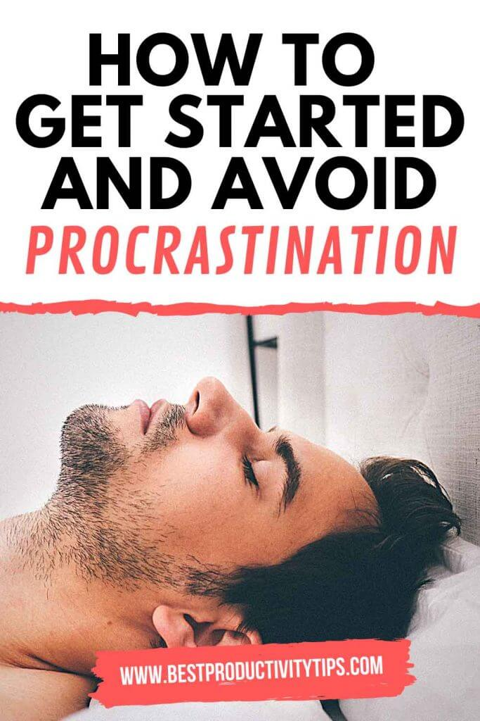 How to get started and avoid procrastination? If you are having tough times to get started with anything you want to do, but you can't? This post is for you